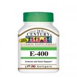 21st Century, Витамин E-400, 110 гель-капс.