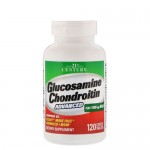 21st Century, Glucosamine-Chondoroitin-MSM+Hyaluronic Acid, 120 таб.