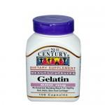21st Century, Gelatin (Желатин), 100 капс.