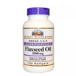 21st Century, Flaxseed Oil (Льняное масло), 120 гель-капс.