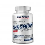 Be First, Chromium Picolinate (Хром) 200 мкг, 60 веган-капс.