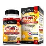 BioSchwartz, Vitamin D (D-3) 5 000 IU 360 гель-капс.