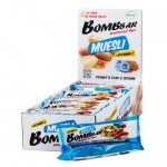 BomBBar, Muesli Bar мультизлаковый, 45 гр.