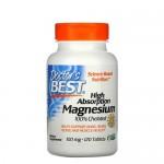 Doctor's Best, Magnesium Chelated 100 мг 120 веган-таб.