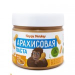 "Happy Monkey Паста арахисовая ""Фитнес"" 330 гр."