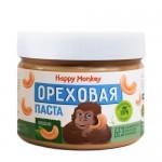 Happy Monkey Паста ореховая кешью 330 гр.