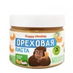 Happy Monkey Паста ореховая кешью с мякотью кокоса 330 гр.