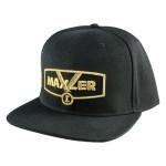 Maxler Бейсболка черная с золотой надписью