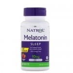 Natrol Melatonine (быстрое высвобождение, со вкусом) 10 мг, 60 таб.