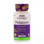 Natrol Melatonine TR (быстрое и медленное высвобождение) 3 мг, 100 таб.
