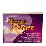 Natrol Sleep'n Restore (восстановление сна), 20 таб.