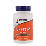 NOW 5-HTP 50 мг 90 веган-капс.
