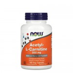 NOW Acetyl L-carnitine 500, 100 капс.