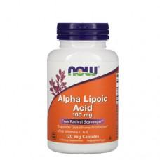 NOW Alpha Lipoic Acid 100 мг, 120 веган-капс.