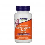 NOW Alpha Lipoic Acid Extra Strength 600 мг, 60 веган-капс.