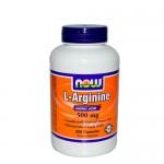 NOW L-Arginine (Аргинин)  500 мг 250 капс.