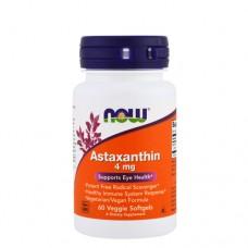 NOW Astaxanthin (астаксантин) 4 мг 60 веган-капс.