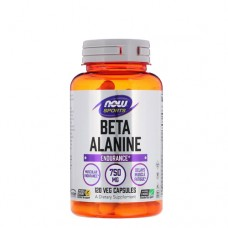NOW Beta-Alanine 750 мг 120 веган-капс.