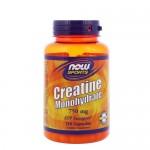NOW Creatine (Креатин) Caps 750 мг, 120 капс.