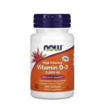 NOW Vitamin D (D-3) 2 000 IU 240 гель-капс.