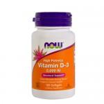 NOW Vitamin D (D-3) 2 000 IU 120 гель-капс.