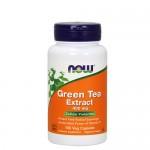 NOW Green Tea Extract (Экстракт зеленого чая) 400 мг, 100 веган-капс.