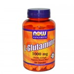 NOW L-Glutamine (Глютамин) 1000 мг, 120 веган-капс.