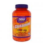 NOW L-Glutamine (Глютамин) 1000 мг, 240 веган-капс.