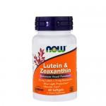 NOW Lutein & Zeaxanthin (Лютеин с зеаксантином) 60 гель-капс.