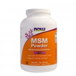 NOW MSM Powder (Метилсульфонилметан) 454 гр.