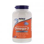 NOW Omega-3, 200 гель-капс.