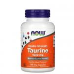 NOW Taurine (Таурин) 1000 мг 100 капс.