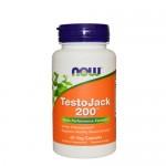 NOW TestoJack 200 (тестостерон) 60 веган-капс.