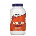 NOW Vitamin C 1000 мг с биофлавоноидами 250 веган-капс.