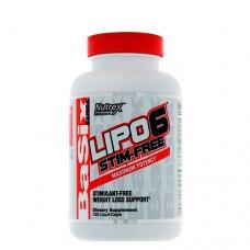 Nutrex Lipo-6 Stim-Free, 120 капс.
