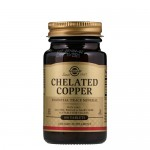 Solgar Chelated Copper (хелатная медь) 2,5 мг 100 таб.