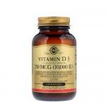 Solgar Vitamin D (D-3) 10 000 IU 120 гель-капс.