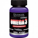 Ultimate Nutrition Omega 3 1000mg 90 гель-капс.