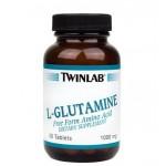 Twinlab L-Glutamine Tabs 1000 mg 50 таб.