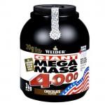 Weider Mega Mass 4000, 3000 гр.